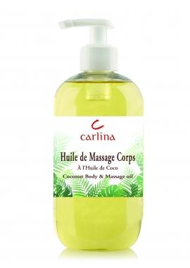 Huile de Massage Neutre 100% Végétale 500 ml