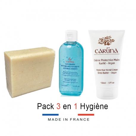 Pack 3 en 1 Hygiène