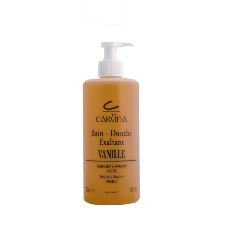 Bain douche vanille produit de beaut carlina paris for Bain douche paris
